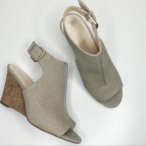 Nine West Gorana Wedge Ankle Strap Sandal